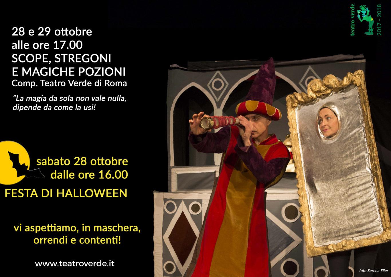 Festa Di Halloween A Roma.Halloween Al Teatro Verde Teatro Verde