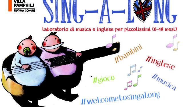 Sing-a-long, musica e inglese per piccolissimi al Teatro Villa Pamphilj