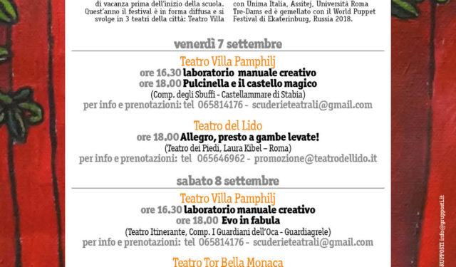 Festival Lucciole e Lanterne Premio Rodari per il Teatro 2018
