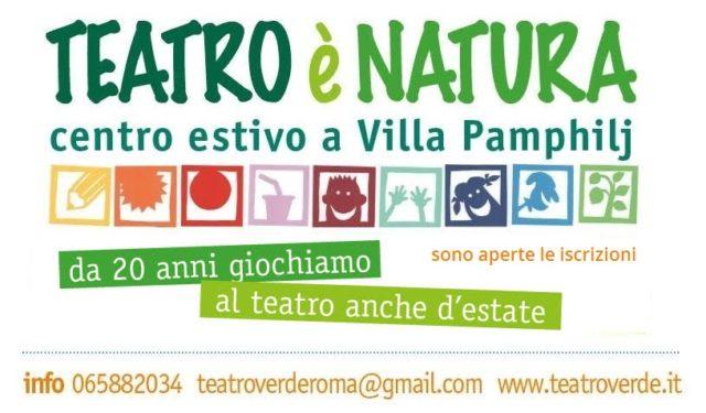 TEATRO È NATURA! Il centro estivo teatrale a Villa Pamphilj