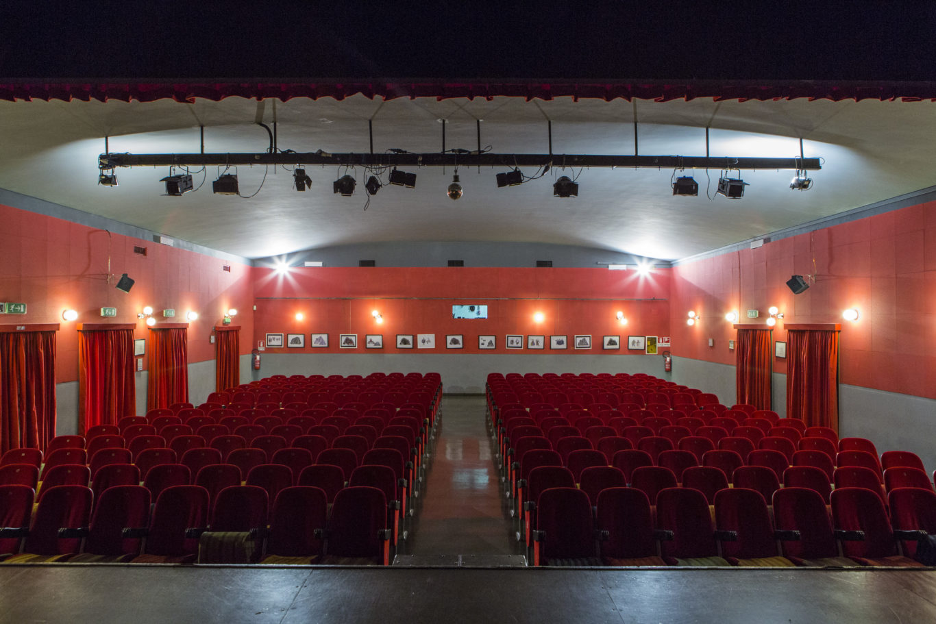 Affitto sala teatro verde for Affitto sala roma
