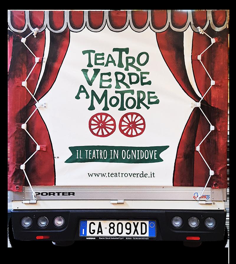 Teatro Verde a Motore - Furgone - Roma